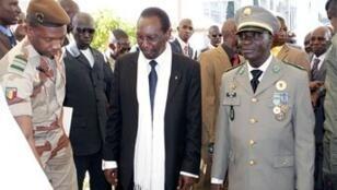 Le président par intérim Dioncouda Traoré