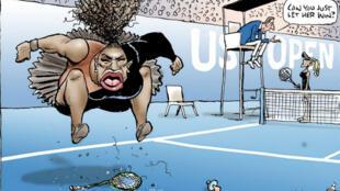 Le dessin de Mark Knight a été publié le 10 septembre 2018 dans le Herald Sun.