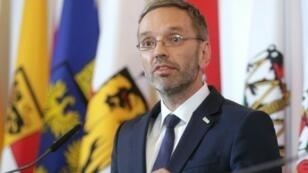 وزير داخلية النمسا  هربرت كيكل