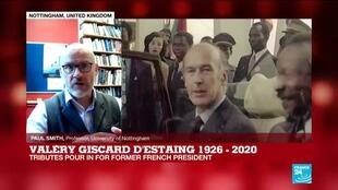 2020-12-03 14:35 Former President Giscard d'Estaing 'wanted to build a progressive society in France'