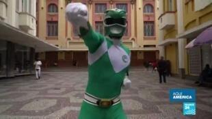 Power Ranger es candidato en Brasil