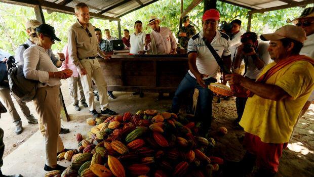 La UE destina 7 millones de dólares e impulsar desarrollo rural en Colombia.