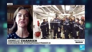 2020-04-16 14:05 Covid-19 : L'armée française a-t-elle sous-estimé la situation sur le porte-avion Charles-de-Gaulle ?