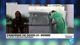 2020-03-26 23:03 Coronavirus en Suisse : Plus de 10.000 cas confirmés au Covid-19