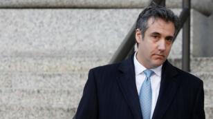Michael Cohen, el exabogado del presidente de Estados Unidos, Donald Trump, a su salida del Tribunal Federal luego de declararse culpable en Manhattan, Nueva York, el 29 de noviembre de 2018.