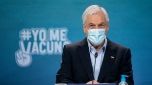 Le président du Chili, Sebastián Piñera, propose le report des élections constitutionnelles lors d'une réunion d'urgence dimanche 28 mars au palais présidentiel de La Moneda à Santiago.