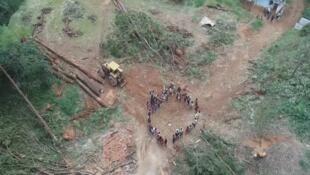 La tierra indígena del Brasil pone de relieve los problemas ambientales.