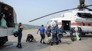 طواقم طبية تتوجه لمنطقة كراسنويارسك لمحاربة حرائق الغابات 4 أغسطس/آب 2019