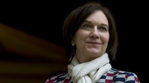 La ministre des Droits des femmes, Laurence Rossignol, lors d'une réunion à Matignon, en février 2016./