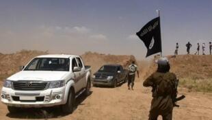 Image de propagande de l'organisation État islamique.