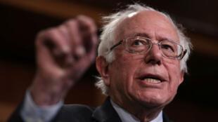 Bernie Sanders, le 30 janvier 2019, à Washington.