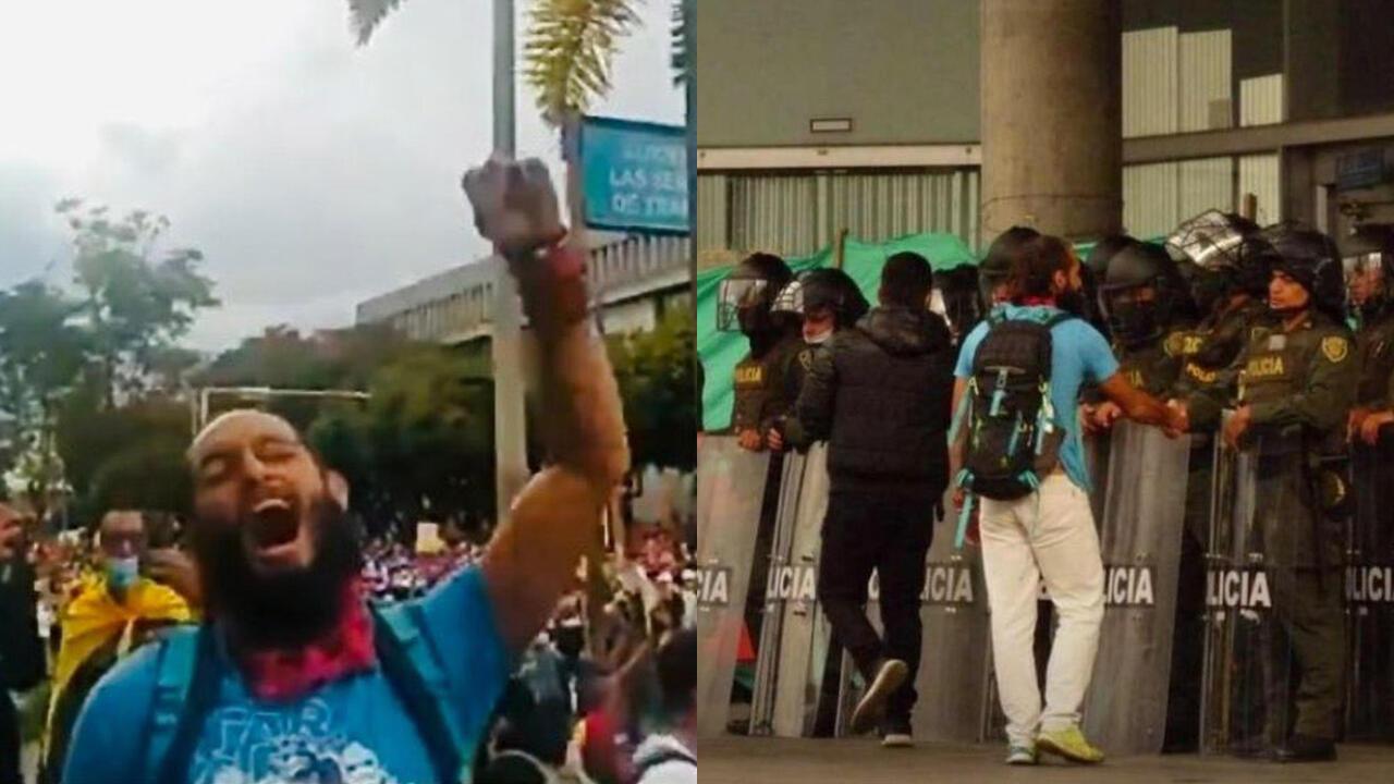 Colombia: hospital confirmó muerte cerebral de Lucas Villa, símbolo de las protestas pacíficas