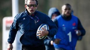 Fabien Galthie a été l'un des premiers cas de Covid-19 déclaré au sein de l'équipe de France de rugby.