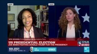 2020-11-04 02:38 US Presidential Election, Joe Biden fighting Donald Trump for the presidency