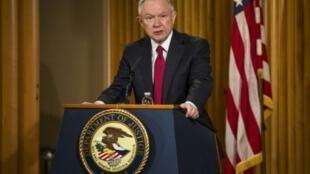 وزير العدل الأمريكي جيف سيشنز