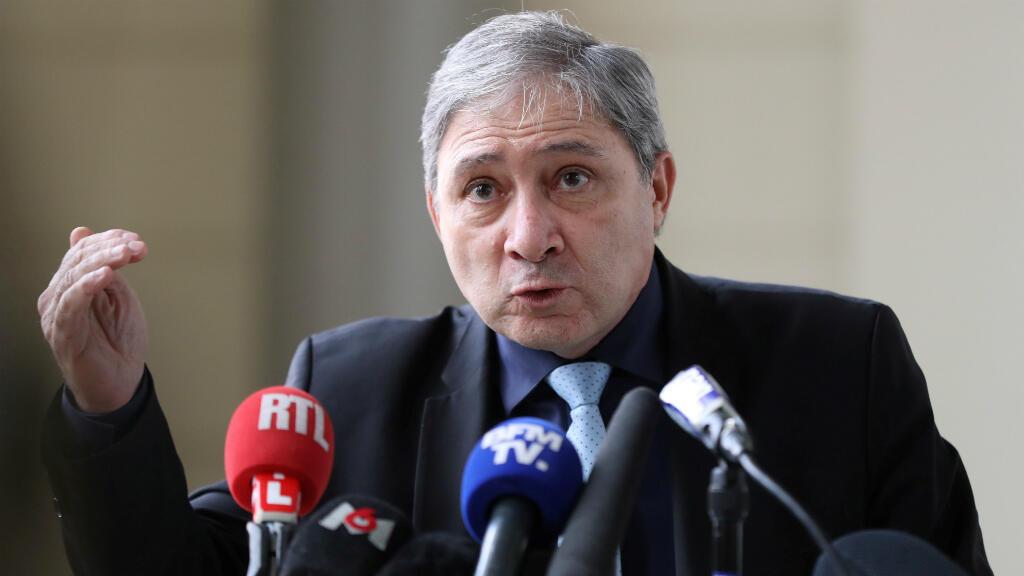 Le procureur de Nice, Jean-Michel Prêtre. (Archive)
