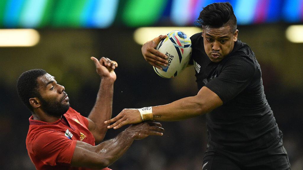 Julian Savea, implacable lors du quart de finale des All Blacks face à la France.
