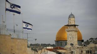 الفلسطينيون يطالبون بالقدس الشرقية عاصمة لدولتهم المستقبلية.
