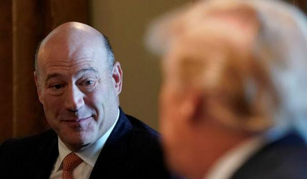 L'ancien de conseiller économique de Donald Trump, Gary Cohn, lors d'une réunion à la Maison Blanche, le 8 mars 2018.