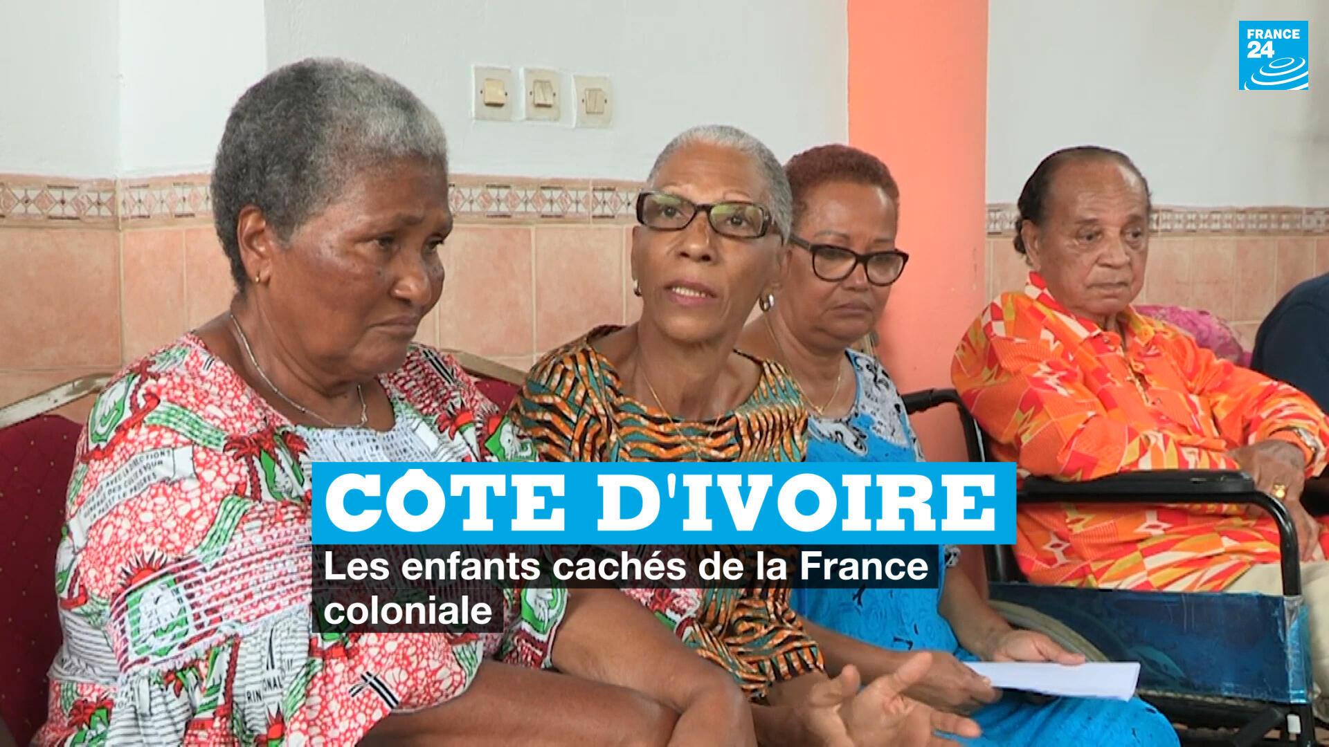 Côte d'Ivoire enfants cachés