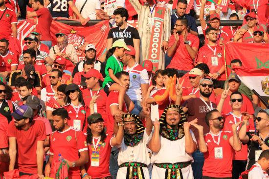 جماهير المغرب تواجدت بكثافة ولكن حضورها في البطولة لم يطل