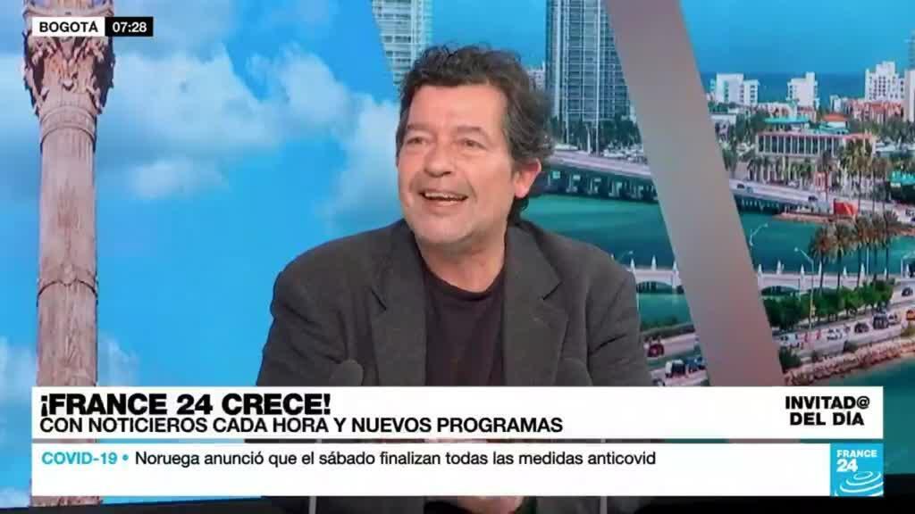"""2021-09-24 14:21 Álvaro Sierra: """"Hemos llegado a la altura de crucero de un canal internacional con 24 horas al aire"""""""