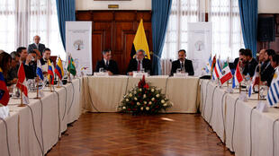 Quito accueille, lundi 3 septembre 2018, un sommet des pays d'Amérique latine pour trouver des solutions à la crise migratoire vénézuélienne.