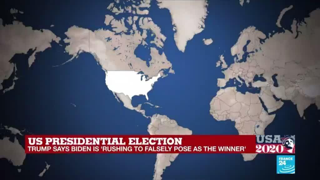 2020-11-07 17:51 Washington begins celebration on news of Biden victory
