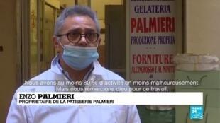 2020-04-10 12:08 Coronavirus : En Italie, les festivités de Pâques par temps de confinement