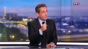 Invité du JT de TF1, dimanche 17 juillet 2016, Nicolas Sarkozy a a haussé le ton contre l'exécutif.