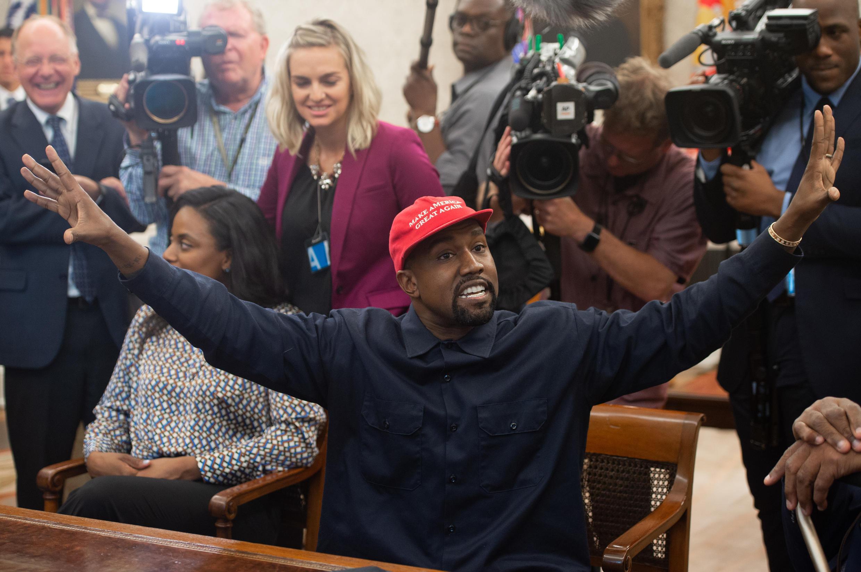 Kanye West president etats unis