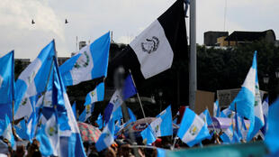 Jornadas de manifestaciones en Guatemala en contra de la corrupción y políticas del gobierno. Septiembre 20 de  2017