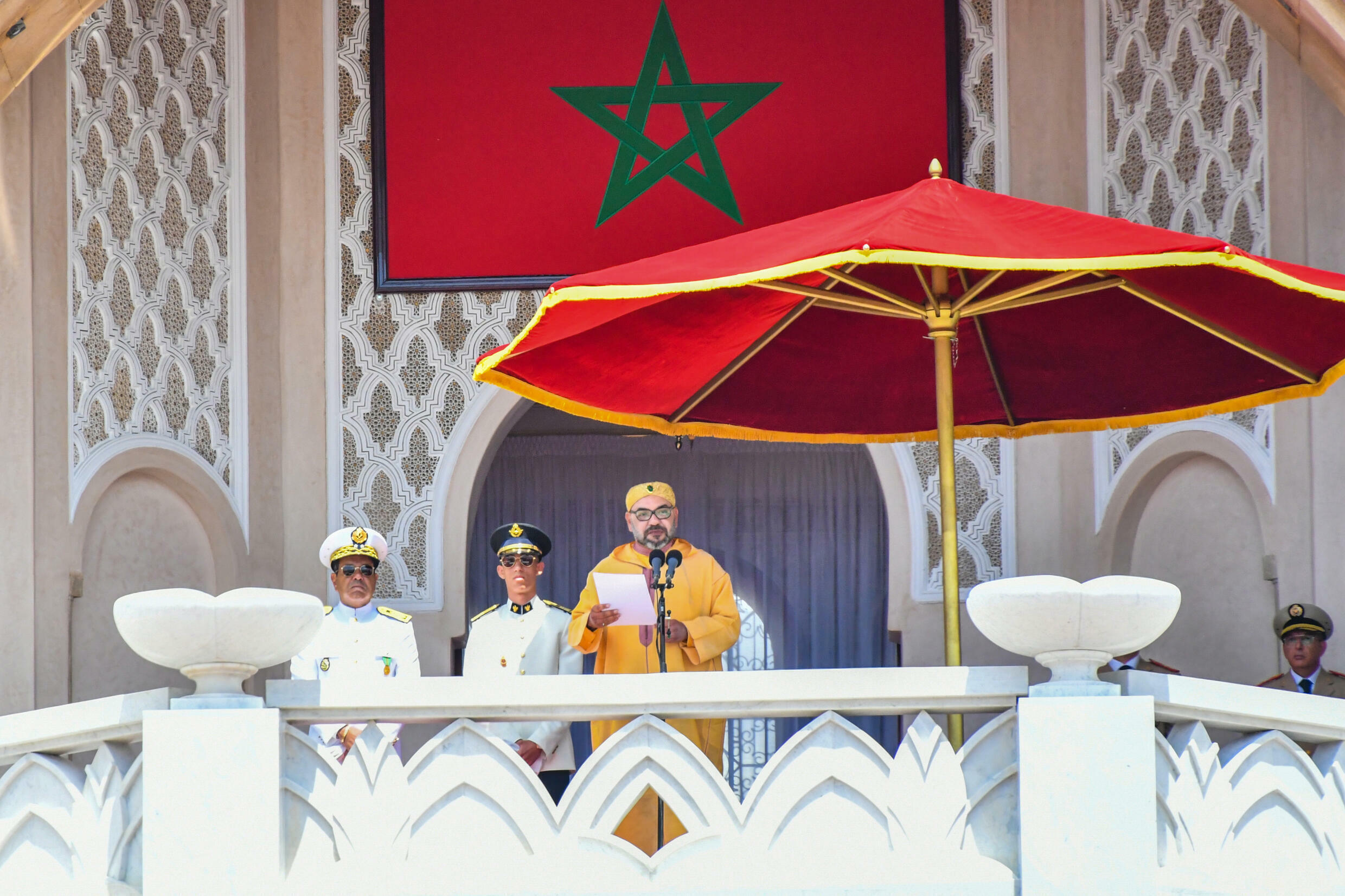 Most of the big decisions in Morocco still ultimately emanate from King Mohammed VI