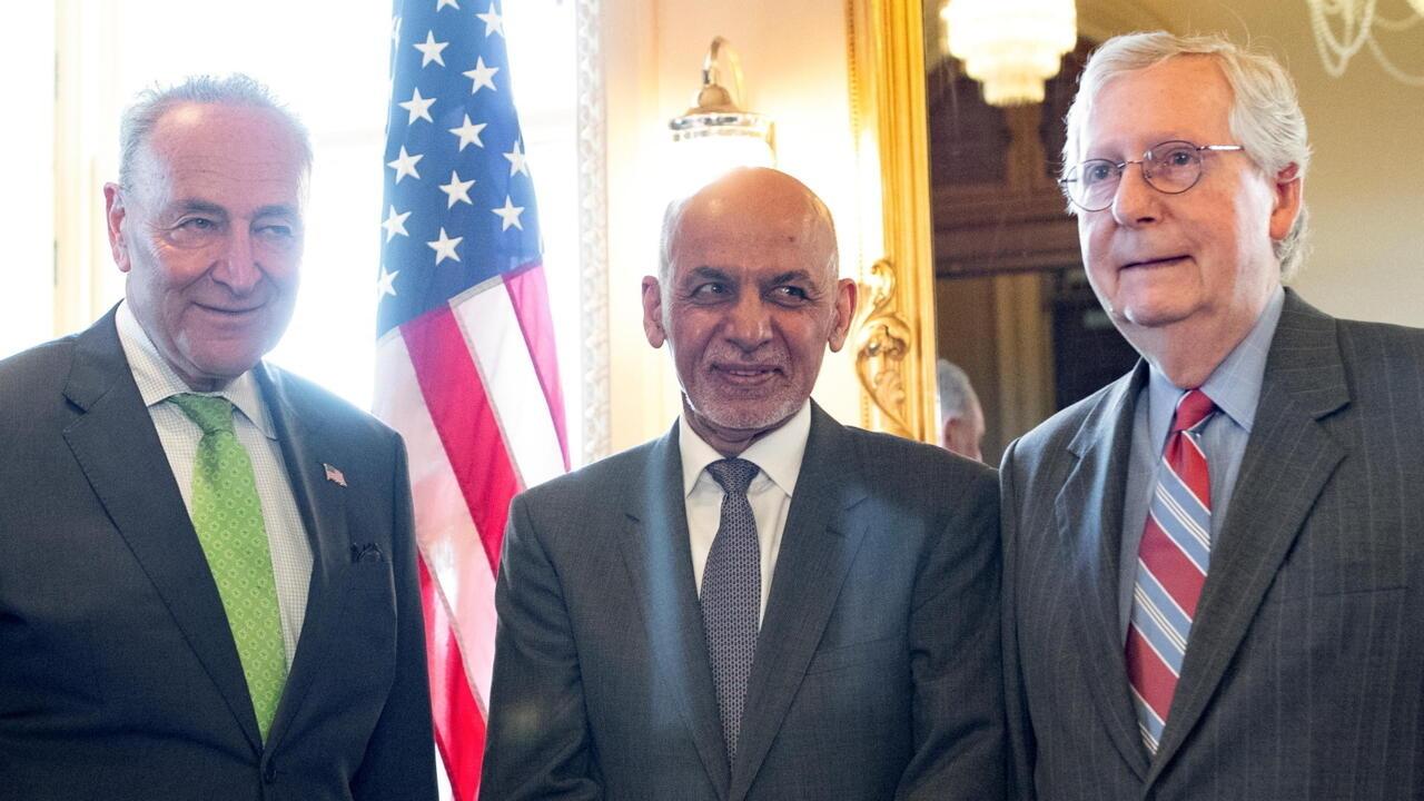 Joe Biden reçoit le président afghan pour évoquer le retrait américain