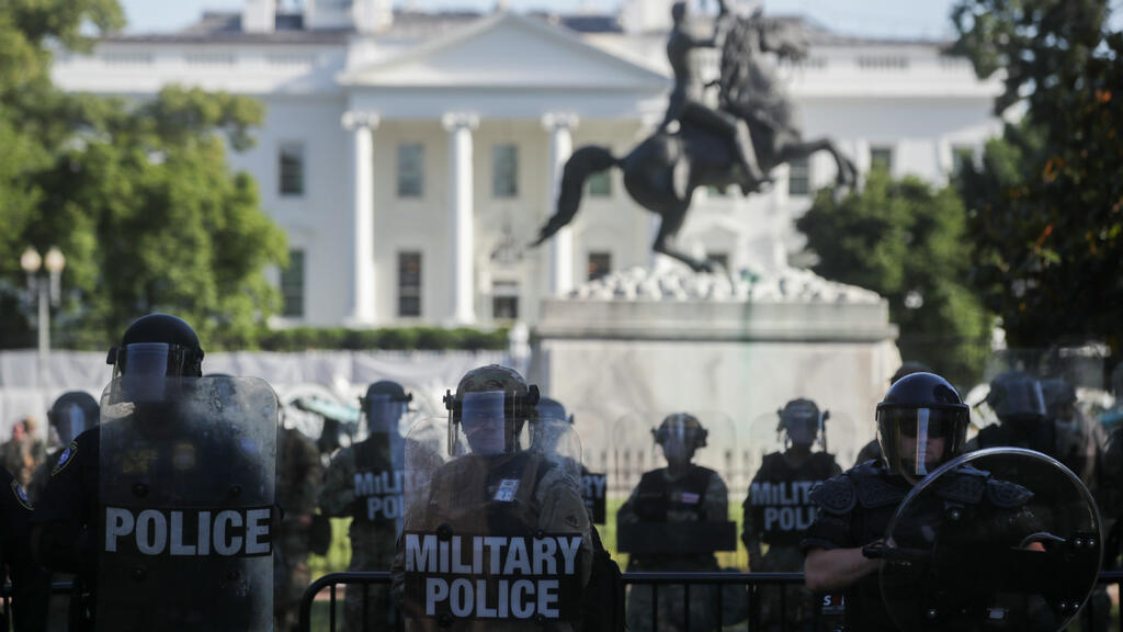 Can Trump 'deploy the military' to quell protests over George Floyd's death?
