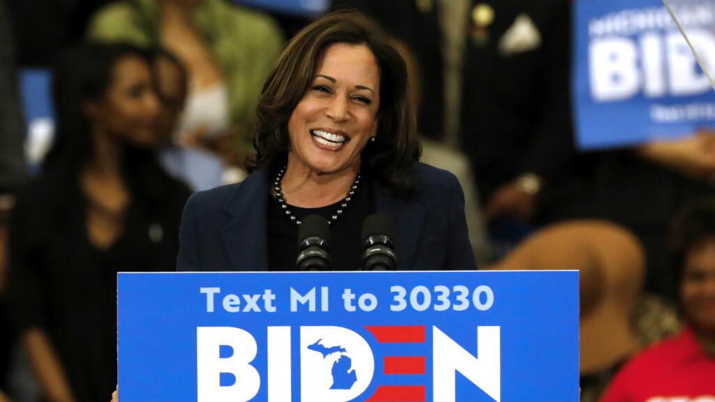 États-Unis : aux côtés de Joe Biden, Kamala Harris se rêve en première vice-présidente noire