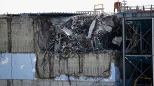 Le bâtiment du réacteur numéro 3 du site nucléaire de Fukushima, pris en photo le 10 février 2016.