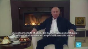 2020-04-20 13:07 Coronavirus : L'épidémie s'aggrave en Russie, Poutine tente de rassurer