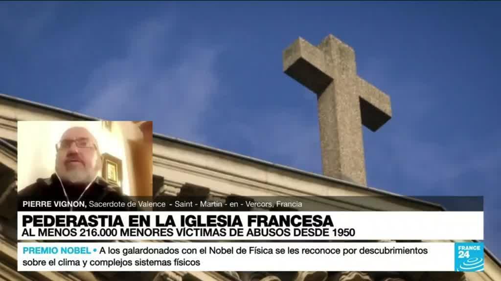 """2021-10-06 01:03 Pierre Vignon: """"El reporte tendrá consecuencias sobre la Iglesia Católica mundial"""""""