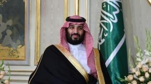 ولي العهد السعودي الأمير محمد بن سلمان في القصر الرئاسة التونسي في قرطاج في محيط العاصمة تونس في 27 ت2/نوفمبر 2018