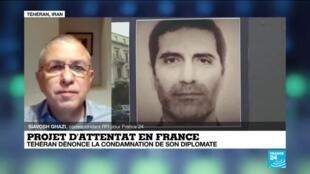 """2021-02-04 16:05 Iran : Téhéran dénonce """"fermement"""" la condamnation de son diplomate en Belgique"""