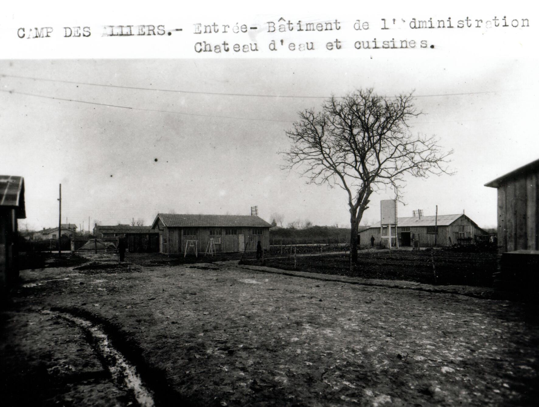 Le camp des Alliers à Angoulême.