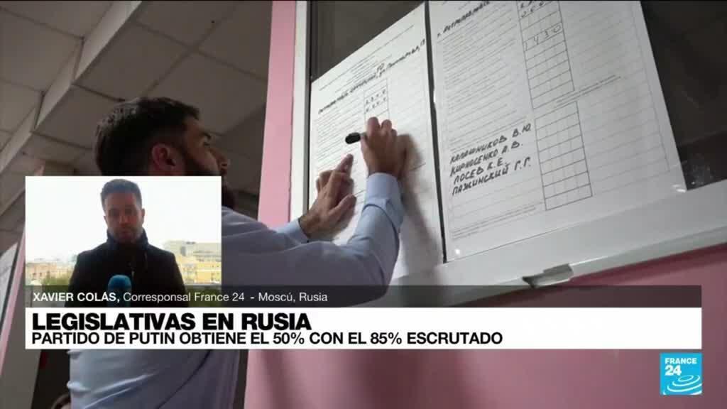 2021-09-20 16:09 Informe desde Moscú: partido de Vladimir Putin, Rusia Unida, ganó las elecciones legislativas