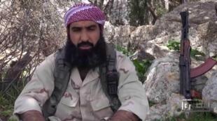 Le commandant militaire du Front al-Nosra, Abou Houmam al-Chami.