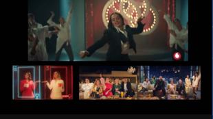 """لقطات من إعلانات """"فودافون"""" و """"زيد"""" و """"فريش"""""""