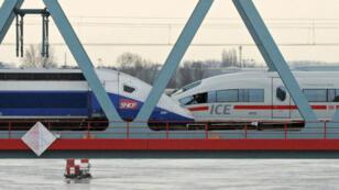 Le TGV français et l'ICE allemand vont être chapeauté par le même ensemble