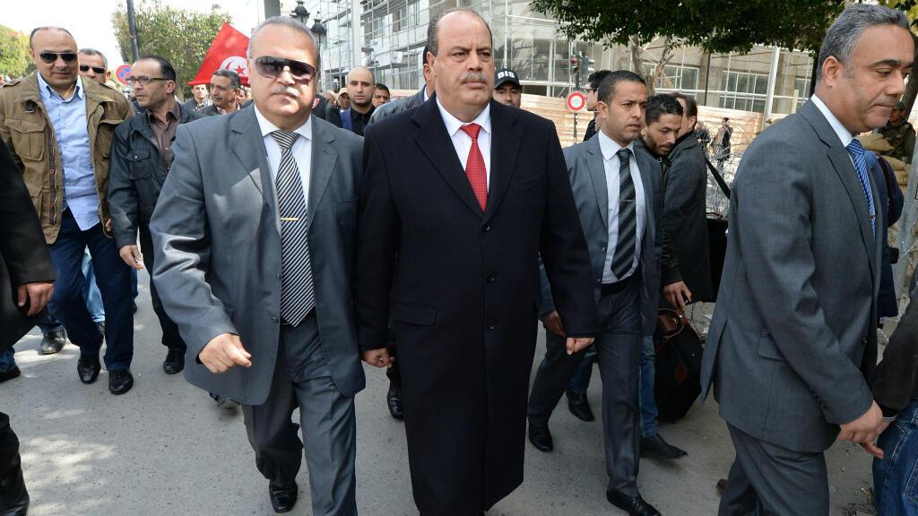 - وزير الداخلية التونسي ناجم الغرسلي