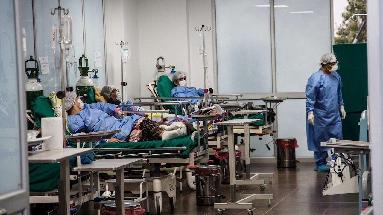 Perú se convirtió en el país número 12 en superar la barrera de los 100.000 contagios, sin embargo, casi 42.000 personas han superado la enfermedad. Lima, 20 de mayo de 2020.