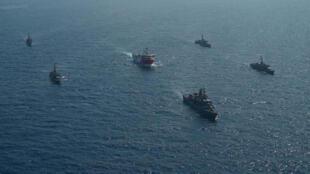 TURKEY-GREECE-OIL-MACRON