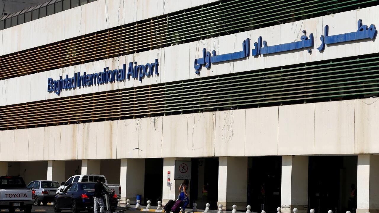 مطار بغداد الدولي. العراق 23 يوليو/تموز 2020.